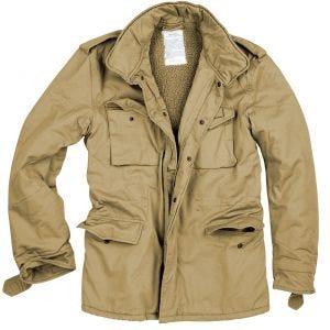 Surplus Paratrooper Winter Jacket Beige Washed