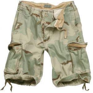 Surplus Vintage Shorts Washed 3-Colour Desert