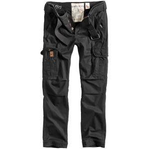Surplus Premium Slimmy Trousers Black Washed