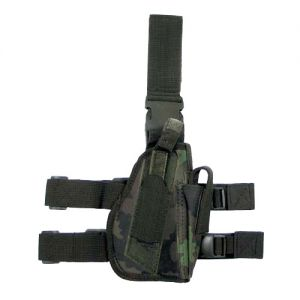 MFH Right Leg Holster Czech Woodland