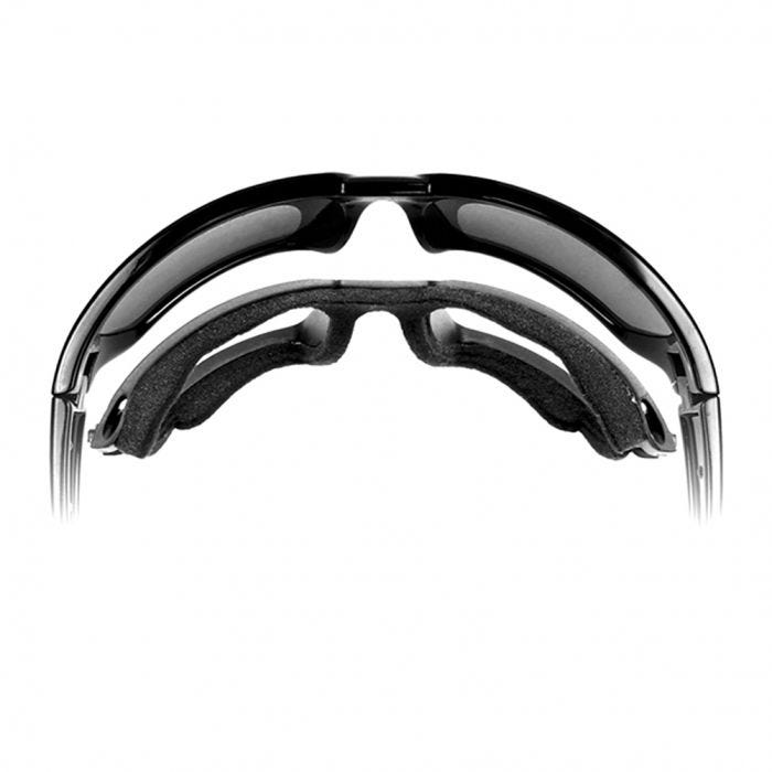 Wiley X WX Boss Glasses - Clear Lens / Gloss Black Frame