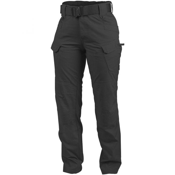 Helikon Women's UTP Trousers Ripstop Black