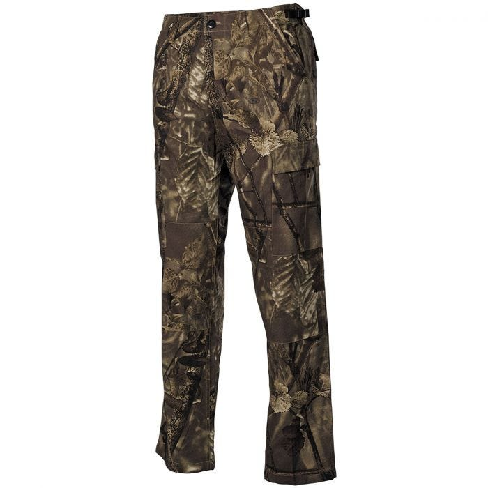 MFH BDU Combat Trousers Ripstop Hunter Brown