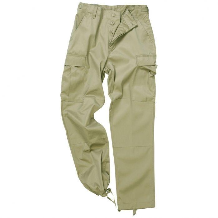 Mil-Tec BDU Ranger Combat Trousers Khaki