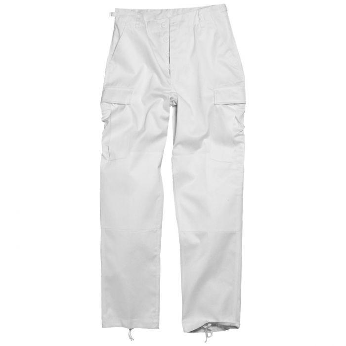 Mil-Tec BDU Ranger Combat Trousers White