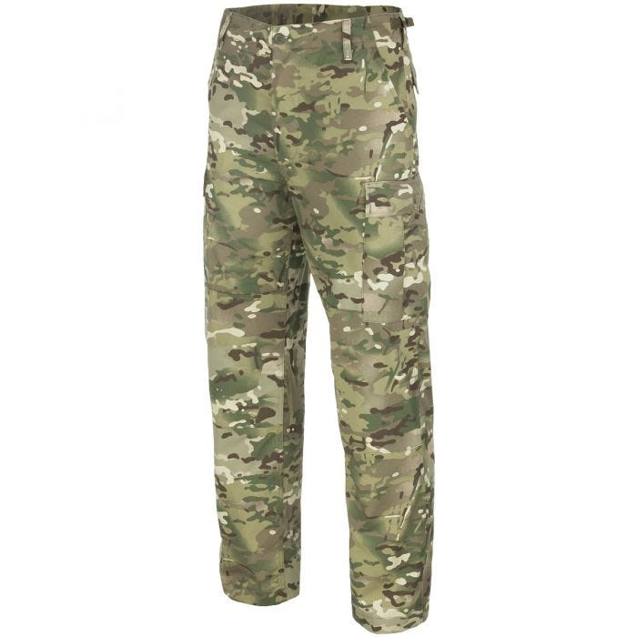 Mil-Tec BDU Combat Trousers Multitarn