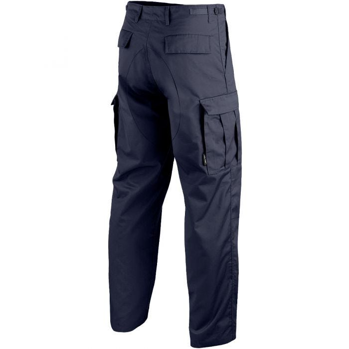 Mil-Tec BDU Combat Trousers Navy Blue