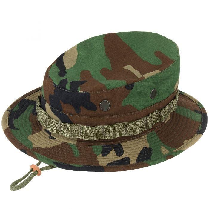 19fa2fea55e Propper Boonie Hat Cotton Ripstop Woodland