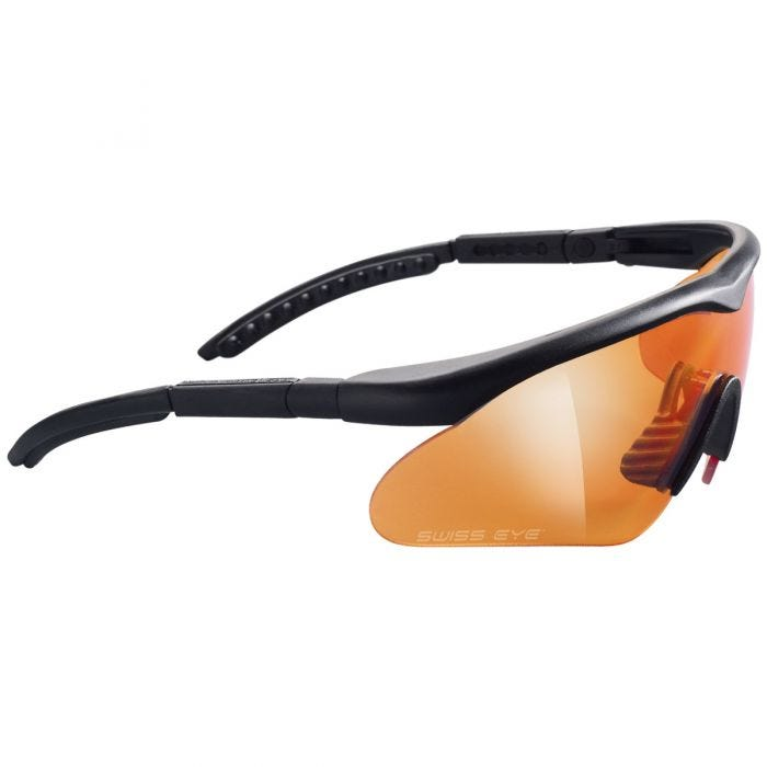 Swiss Eye Raptor Glasses Black Frame