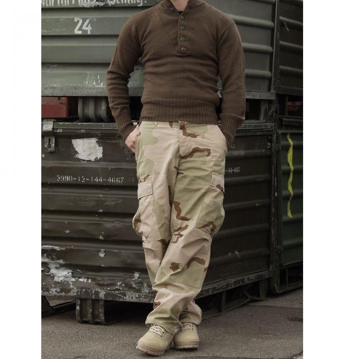 Teesar BDU Trousers Ripstop 3-Colour Desert