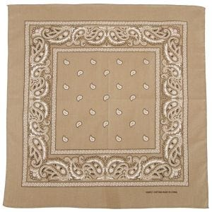MFH Bandana Cotton Beige