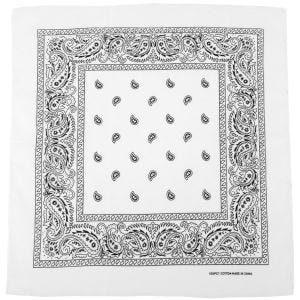MFH Bandana Cotton White
