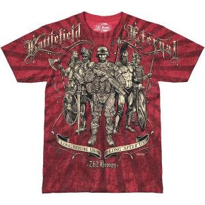 7.62 Design Battlefield Eternal T-Shirt Scarlet