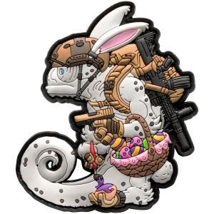 Helikon Chameleon Easter Operator Patch White/Coyote