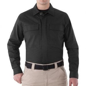First Tactical Men's V2 Long Sleeve BDU Shirt Black