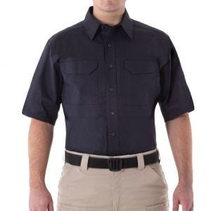 First Tactical Men's V2 Short Sleeve Tactical Shirt Midnight Navy