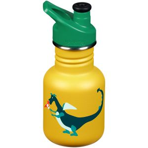 Klean Kanteen Kid Sport 355ml Bottle Sport Cap 3.0 Dragon Snack