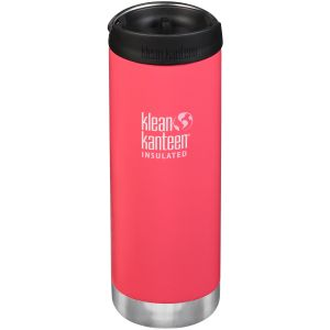 Klean Kanteen TKWide 473ml Insulated Bottle Cafe Cap 2.0 Melon Punch