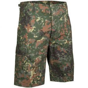 Mil-Tec US Prewashed Ripstop Bermuda Shorts Flecktarn