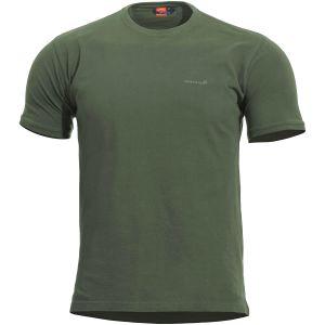 Pentagon Levantes Crew Neck Shirt Camo Green