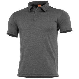 Pentagon Notus Quick Dry Polo Charcoal Grey