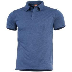 Pentagon Notus Quick Dry Polo Indigo Blue