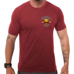 7.62 Design USMC Devil Dog T-shirt Red