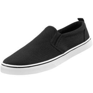 Brandit Southampton Slip-On Sneaker Black/White