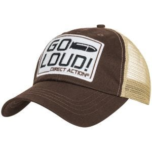 Direct Action GO LOUD! Feed Cap Brown