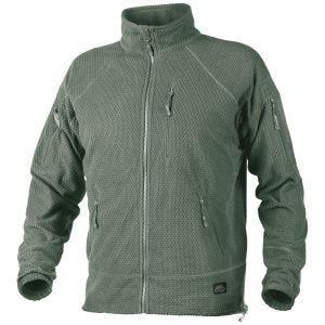 Helikon Alpha Tactical Grid Fleece Jacket Foliage Green