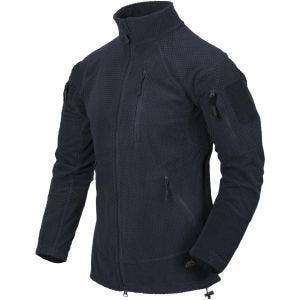 Helikon Alpha Tactical Jacket Grid Fleece Navy Blue