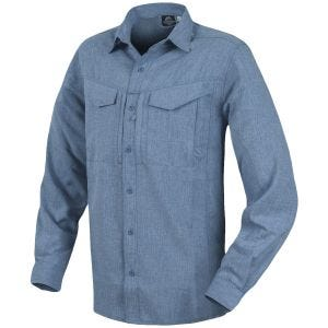 Helikon Defender Mk2 Gentleman Long Sleeve Shirt Melange Blue