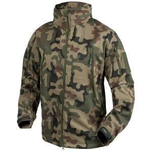 Helikon Gunfighter Soft Shell Jacket Polish Woodland
