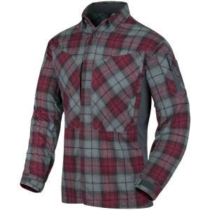 Helikon MBDU Flannel Shirt Ruby Plaid