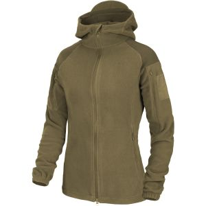 Helikon Womens Cumulus Heavy Fleece Jacket Coyote