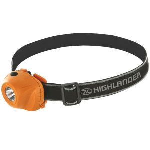 Highlander Beam 1W LED Headlamp Orange / Black