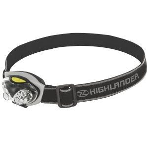 Highlander Spark 4+2 LED Head Torch Black / Silver