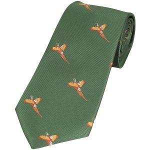 Jack Pyke Tie Pheasant Green