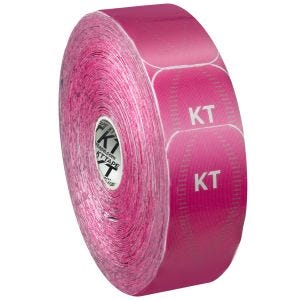 KT Tape Jumbo Synthetic Pro Precut Hero Pink