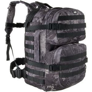 MFH Backpack Assault II Snake Black