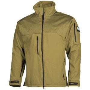 MFH Australia Soft Shell Jacket Coyote Tan