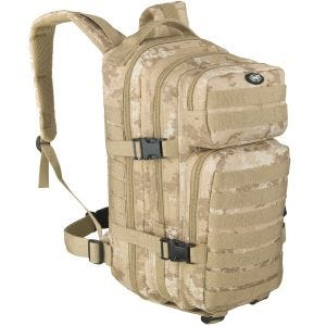 MFH Backpack Assault I Vegetato Desert