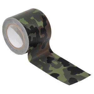 MFH BW Fabric Tape 5cm x 5m Flecktarn