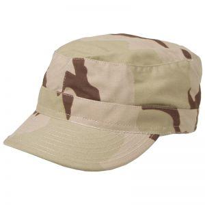 MFH BDU Ripstop Field Cap 3-Colour Desert