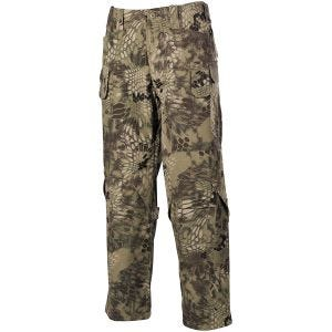 MFH Mission Combat Trousers Ripstop Snake FG