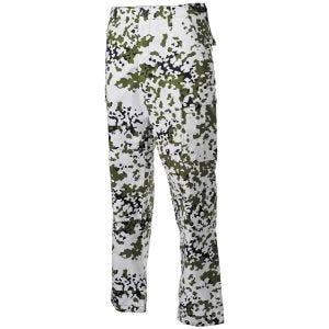 MFH BDU Combat Trousers Ripstop Snow