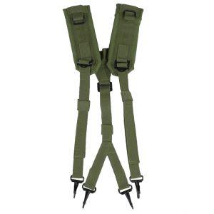 Mil-Tec US LC2 Suspenders Olive