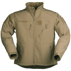 Mil-Tec Softshell Jacket SCU 14 Dark Coyote