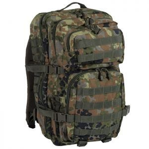Mil-Tec MOLLE US Assault Pack Large Flecktarn