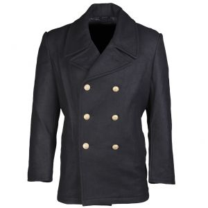 German Marine Colani Pea Coat Navy